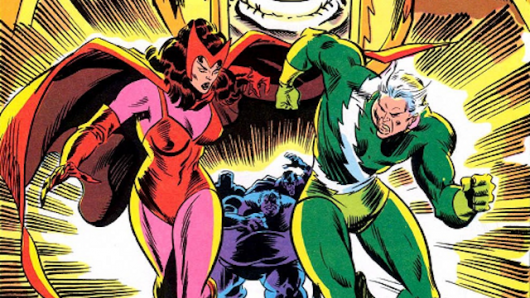 Scarlet Witch and Quicksiliver set for Age of Ultron