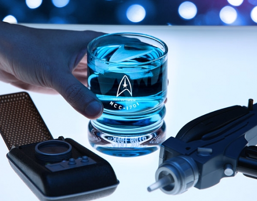 Star Trek U.S.S. Enterprise Glassware Set drinks