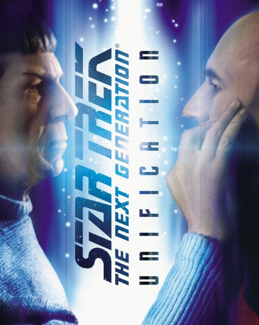 Star Trek: The Next Generation - Unification Blu-ray box art