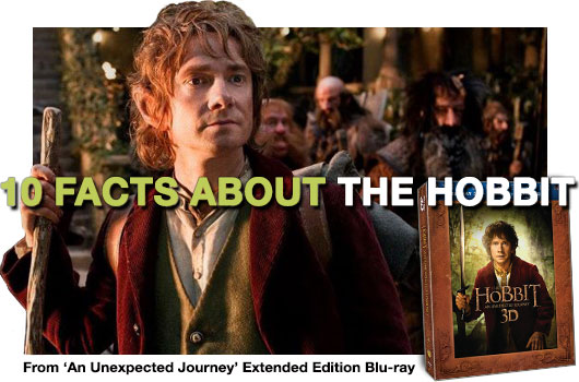 10 Things About The Hobbit An Unexpected Journey banner