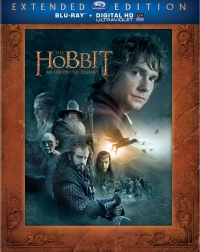 The Hobbit: An Unexpected Journey Extended Edition Blu-Ray