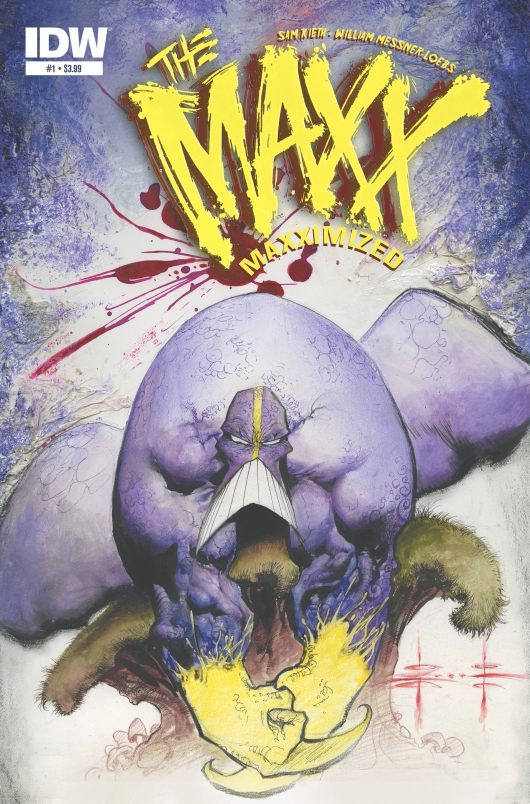 The Maxx: Maxximized #1 Cover by Sam Keith