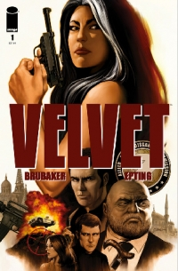 Velvet #1 cover by Steve Epting