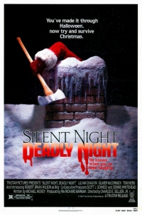 Silent Night, Deadly Night movie poster 1984
