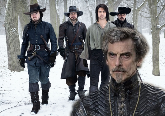 The Musketeers Peter Capaldi