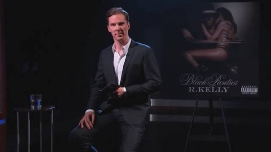 Benedict Cumberbatch Reads R. Kelly Song Genius on Jimmy Kimmel Live