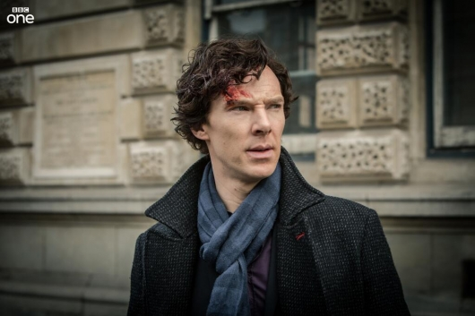 Benedict Cumberbatch as Sherlock in Season 3