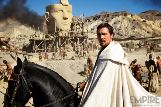 Christian Bale as Moses in Ridley Scott's Exodus