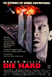 Die Hard movie poster 1988