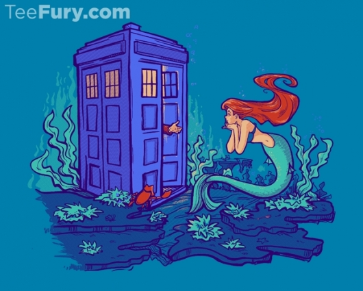 Doctor Who The Little Mermaid Part of Every World