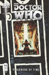 Doctor Who: Prisoners of Time #12 cover by Francesco Francavilla