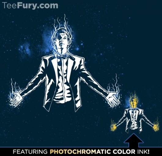 Doctor Who The 11th Hour Shirt With Photochromatic Ink
