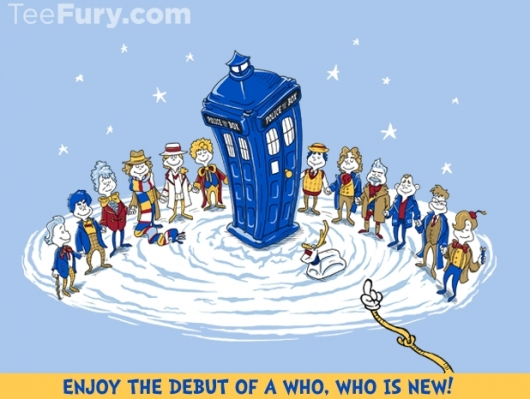 Doctor Who Doctor Whoville Shirt