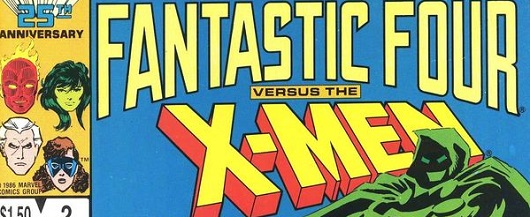 Fantastic Four vs X-Men