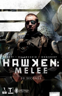 Hawken: Melee #1 cover by Tim Bradstreet