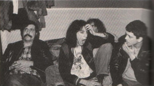 Lester Bangs, Patti Smith and Lou Reed