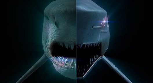 Mega Shark vs Mecha Shark Poster Teaser