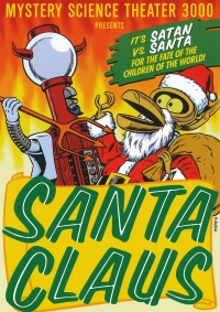 Mystery Science Theater 3000 Presents Santa Claus MST3K 1991