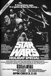 Star Wars Holiday Special TV Guide Ad 1978