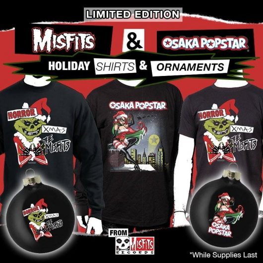 The Misfits Horror Xmas EP, Shirts Holiday Ornaments