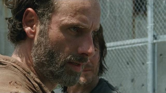 The Walking Dead Rick (Andrew Lincoln) at the prison