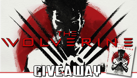 The Wolverine giveaway banner