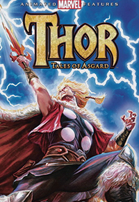 Thor: Tales of Asgard - Cover / Poster - Lionsgate and Marvel