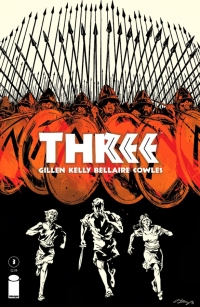 Three #3 cover by Ryan Kelly and Jordie Bellaire