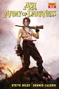 Ash and the Army of Darkness #3 Cover by Arthur Suydam