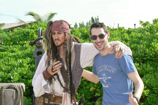 Disney Cruise Line, Jack Sparrow