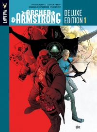 Archer and Armstrong, Book One cover by Andrew Robinson