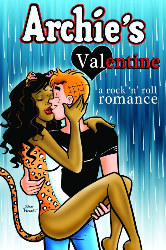Archie's Valentine Rock & Roll Romance TPB cover