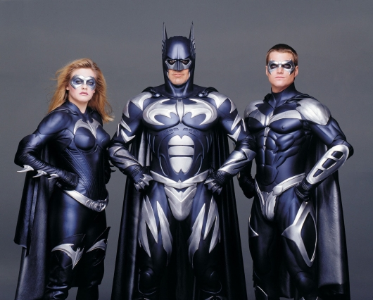 Batman & Robin George Clooney, Chris O'Donnell, Alicia Silverstone