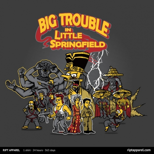 The Simpsons Big Trouble In Little China Mash-Up