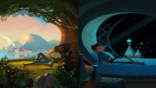 Broken Age screenshot, Double Fine Productions