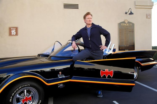 Conan O'Brien Batman photo by Will Becton