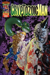 Cryptozoic Man #3 Cover by Walter Flanagan