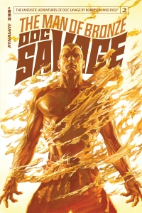 Doc Savage #2 cover by Alex Ross