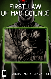 First Law Of Mad Science #4 cover by Daniel Lapham