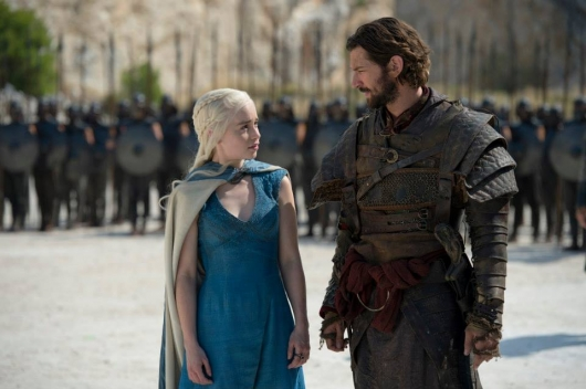 Game Of Thrones, Season 4 stills: Daenerys Targaryen and Daario Naharis
