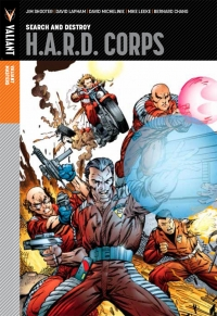 H.A.R.D. Corps, Vol. #1: Search and Destroy cover by Jim Lee