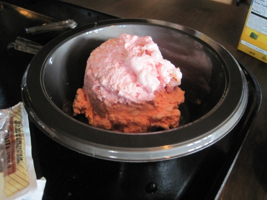 Harry Potter Strawberry and Peanut Butter Ice Cream