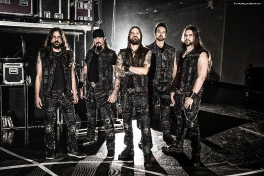 Iced Earth band photo Plagues Of Babylon line-up 2013