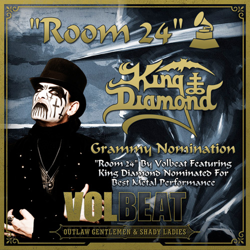 King Diamond grammy nomination Volbert Room 24 song 2014