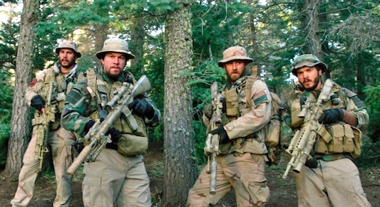 Lone Survivor Starring Mark Wahlberg, Taylor Kitsch, Emile Hirsch and Ben Foster