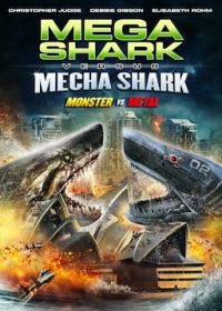 Mega Shark vs Mecha Shark Cover