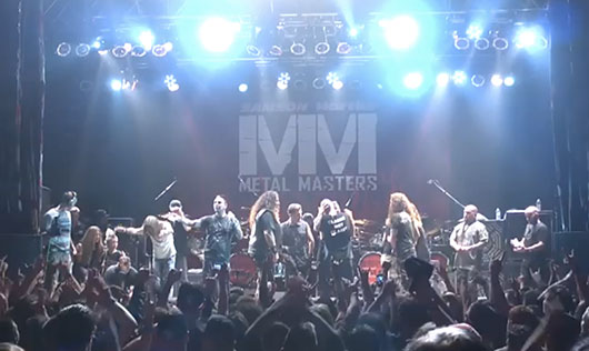 Metal Masters 5 Slayer, Anthrax, Megadeth, Testament, Pantera Members