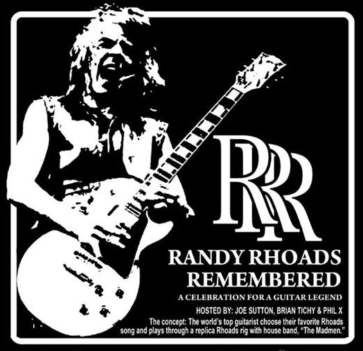 Randy Rhoads Remembered banner January 2014