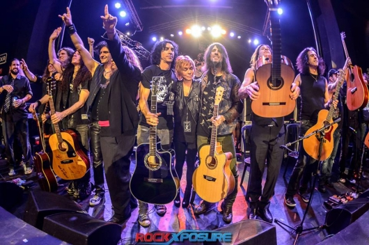 Randy Rhoads Remembered concert Dee all star guitar finale