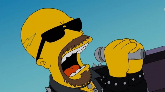 Judas Priest's Rob Halford The Simpsons